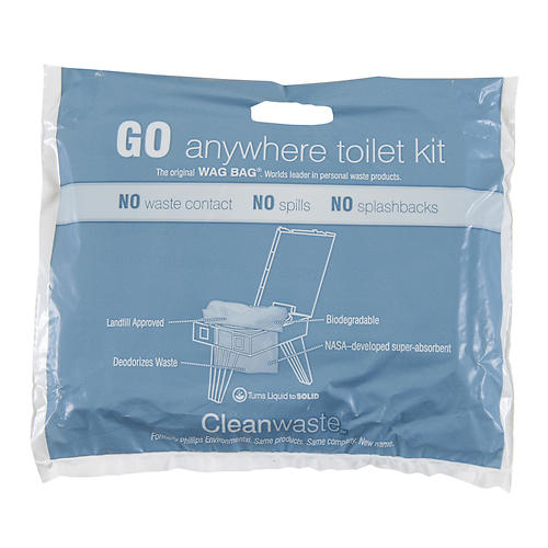 photo: Cleanwaste Wag Bag waste and sanitation supply/device