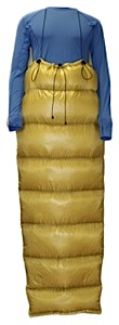 photo: Brooks-Range Elephant Foot Sleeping Bag 3-season down sleeping bag