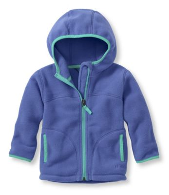 L.L.Bean Trail Model Fleece Hooded Jacket