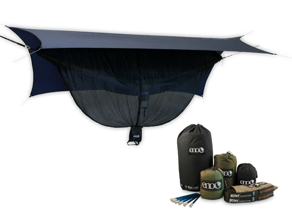 photo: Eagles Nest Outfitters OneLink Double Deluxe hammock