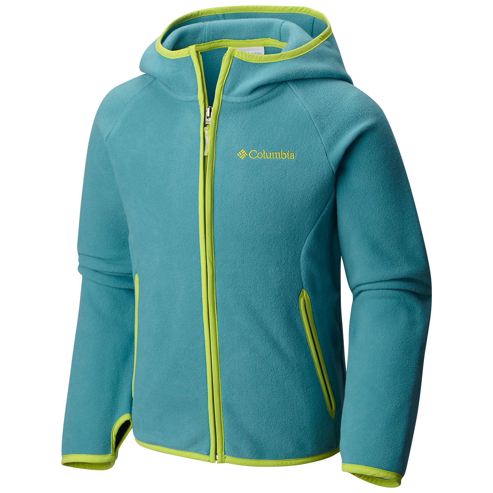 photo: Columbia Boys' Fast Trek Hoodie fleece jacket