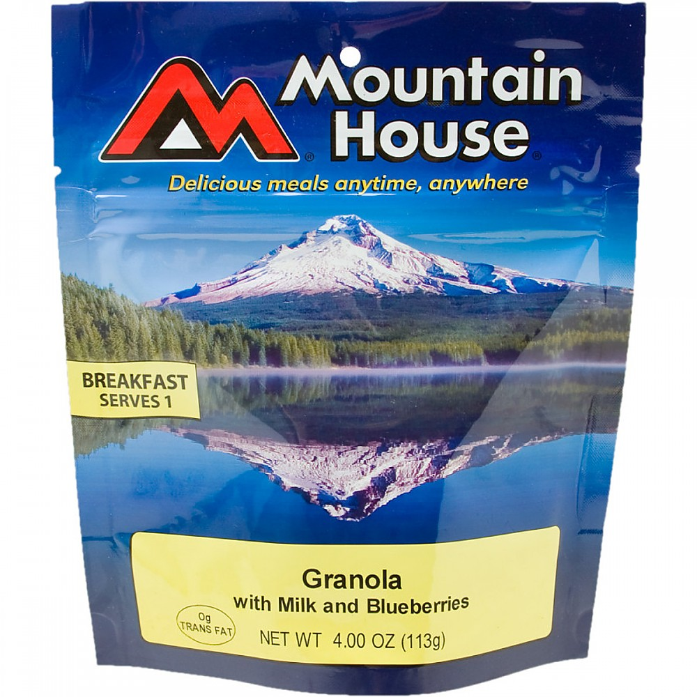 photo: Mountain House Granola with Milk and Blueberries breakfast