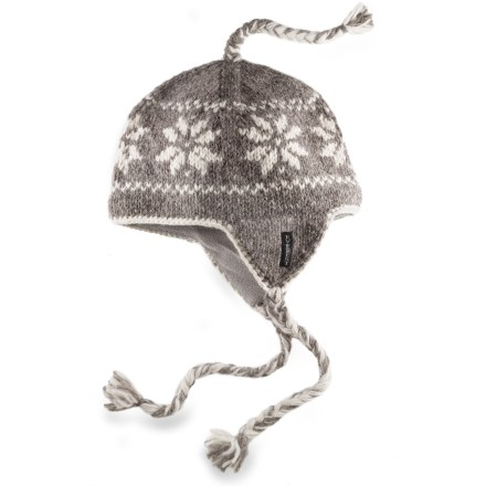 Everest Designs Snowflake Earflap Hat