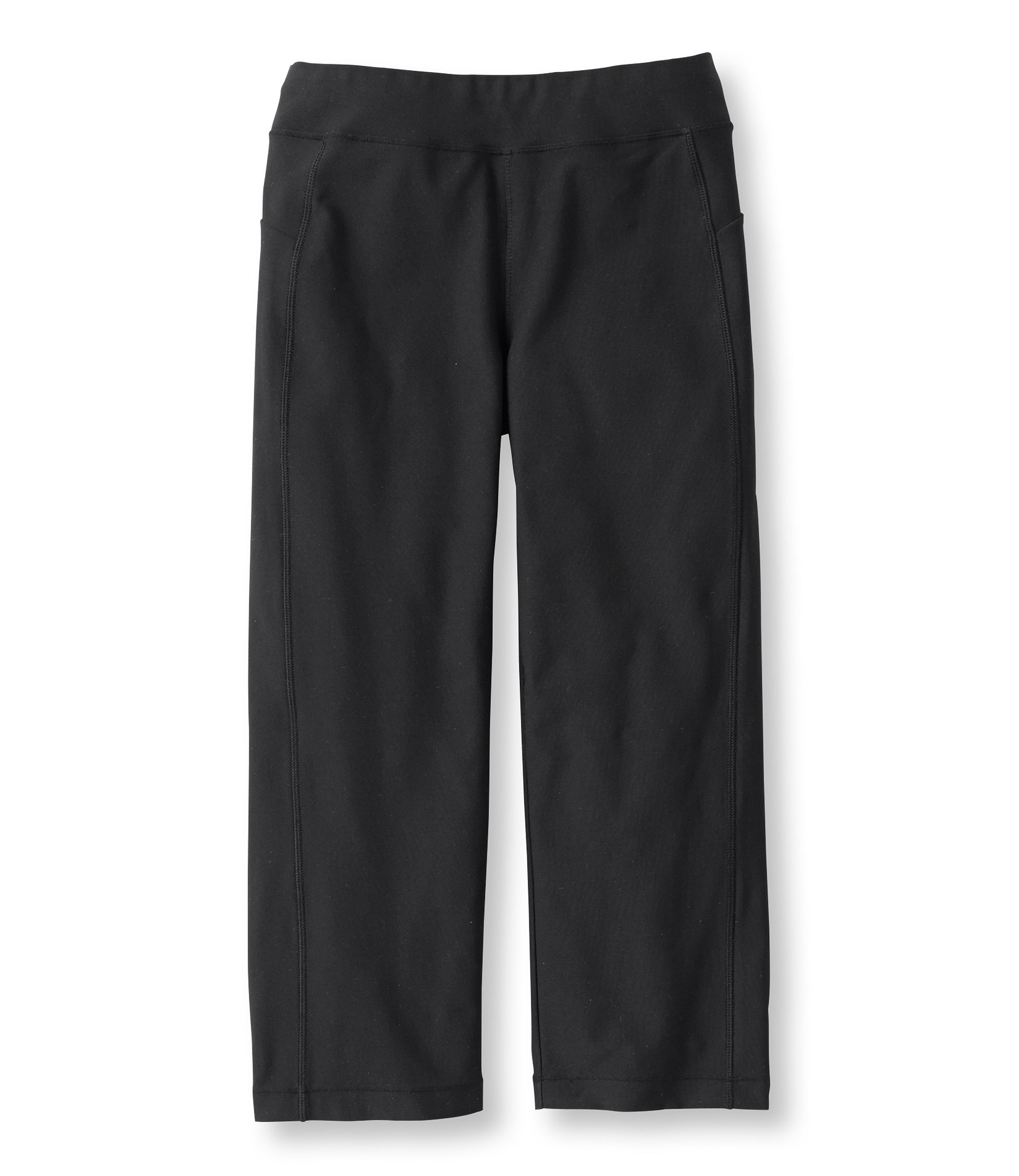 L.L.Bean Fitness Pants, Cropped