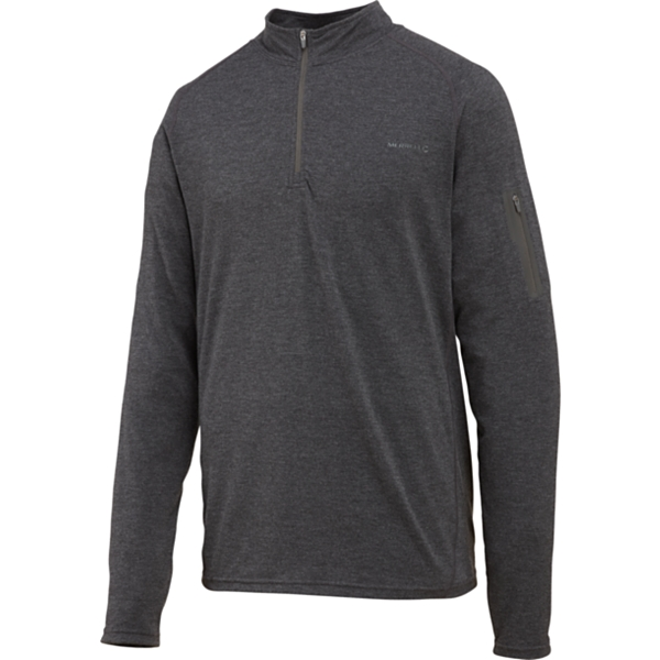 photo: Merrell Geo LS Half Zip long sleeve performance top