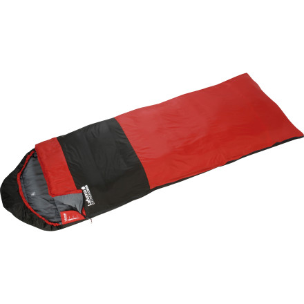 photo: Lafuma Extreme 700 XL warm weather synthetic sleeping bag