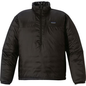 photo: Patagonia Micro Puff Pullover synthetic insulated jacket