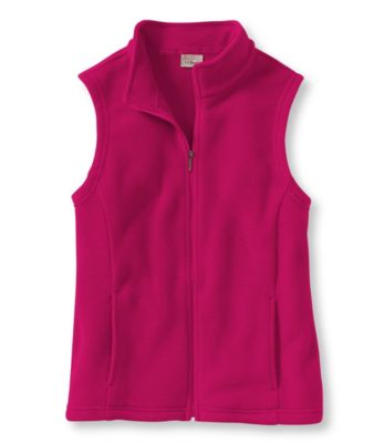 photo: L.L.Bean Comfort Fleece, Mock-Turtleneck Vest fleece vest