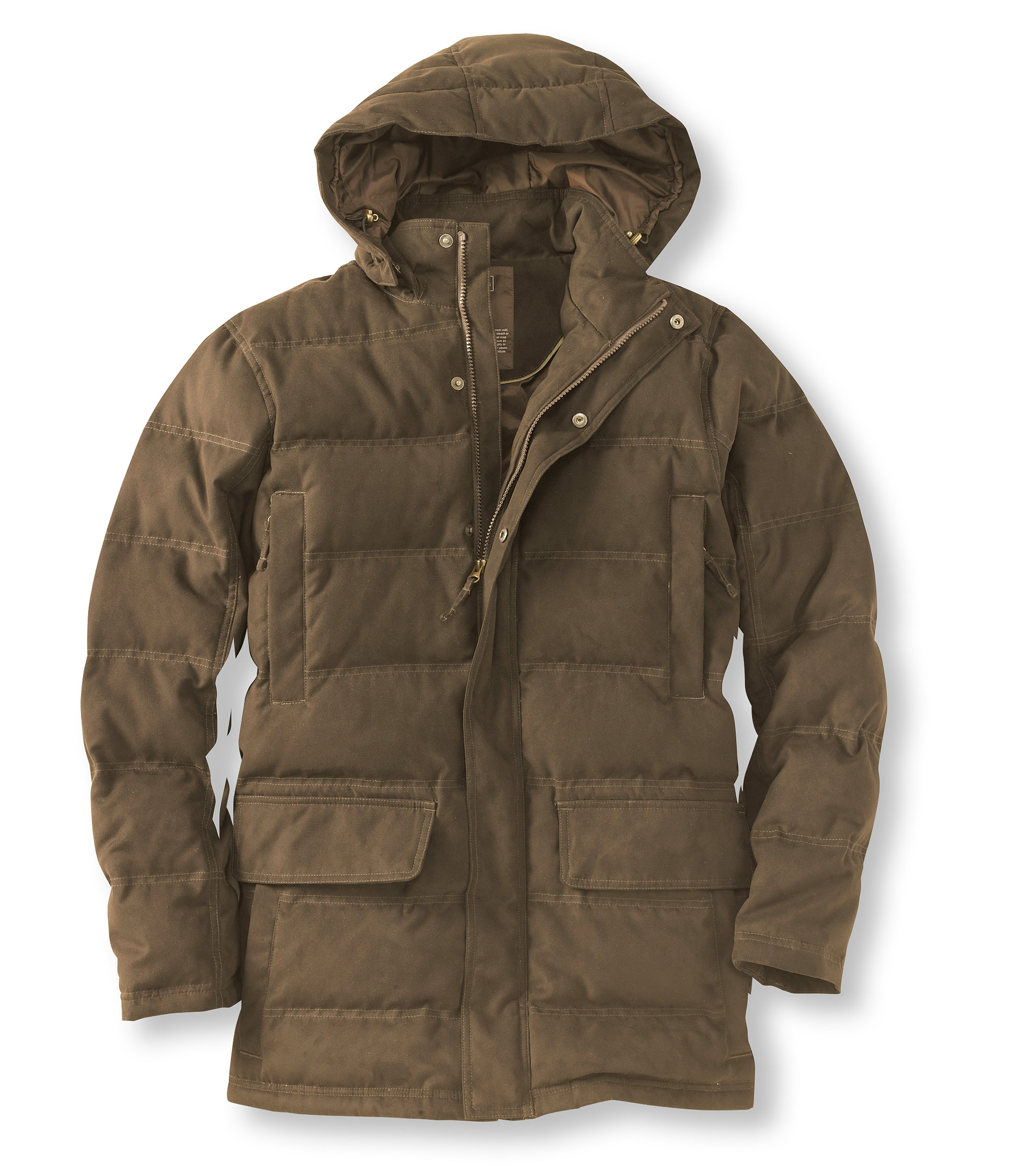 L.L.Bean Town and Field Down Hooded Coat