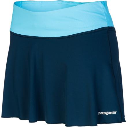 photo: Patagonia All Weather Skirt hiking skirt