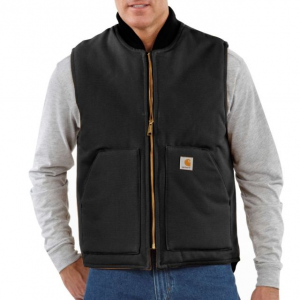 photo: Carhartt Duck Vest synthetic insulated vest