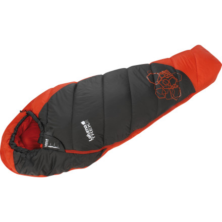photo: Lafuma Trek 900 Jr. 40F warm weather synthetic sleeping bag