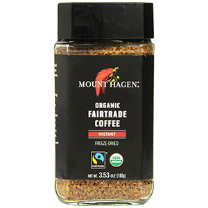 Mount Hagen Organic Fairtrade Instant Coffee