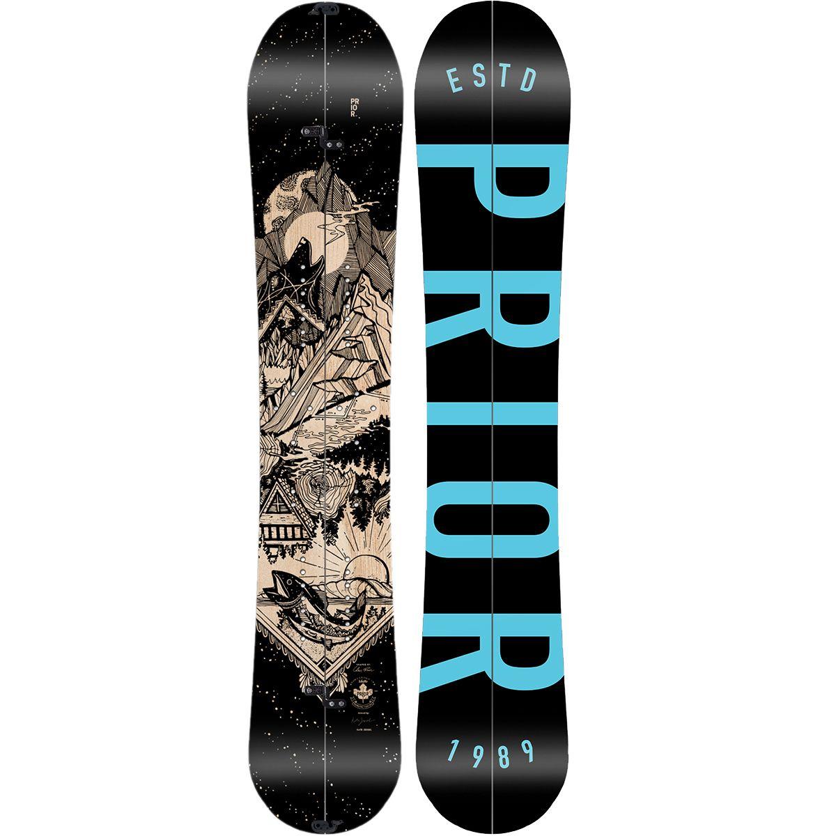 photo: Prior Brandywine Splitboard splitboard