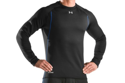 photo: Under Armour Men's ColdGear Base 3.0 Crew long sleeve performance top