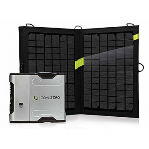 photo: Goal Zero Sherpa 50 Solar Recharging Kit power storage