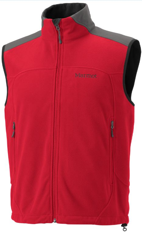 photo: Marmot Afterburner Vest fleece vest