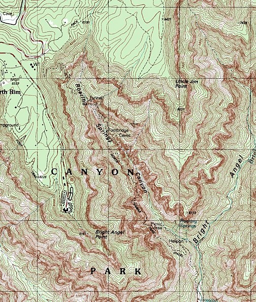 Upper-section-of-the-North-Kaibab-Trail-