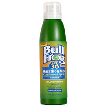 photo of a BullFrog sunscreen