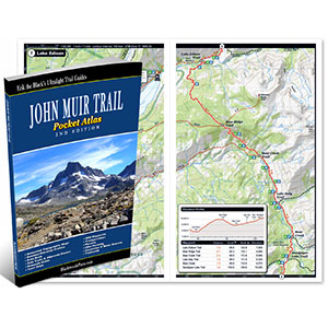 Blackwoods Press John Muir Trail Pocket Atlas