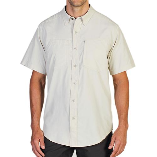 photo: ExOfficio GeoTrek'r Short-Sleeve Shirt hiking shirt