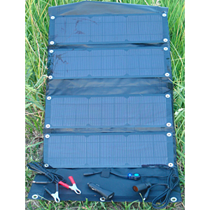 photo of a Trail POWER solar panel