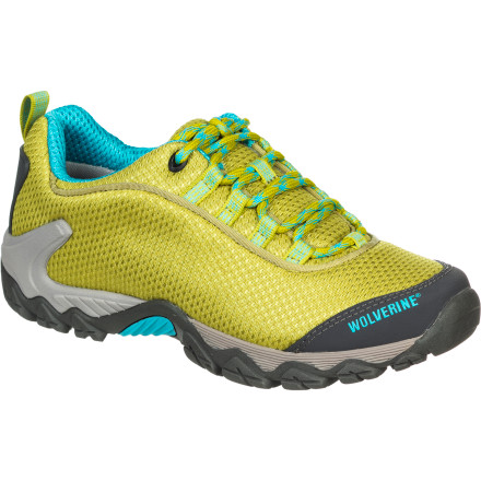 photo of a Wolverine trail shoe