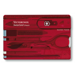 photo: Victorinox Swiss Army SwissCard multi-tool