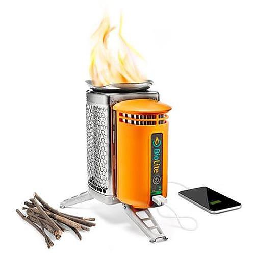 photo: BioLite CampStove wood stove