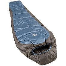 photo: Coleman Crescent 15 3-season synthetic sleeping bag