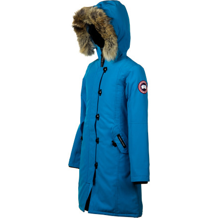 photo: Canada Goose Girls' Kensington Parka down insulated jacket