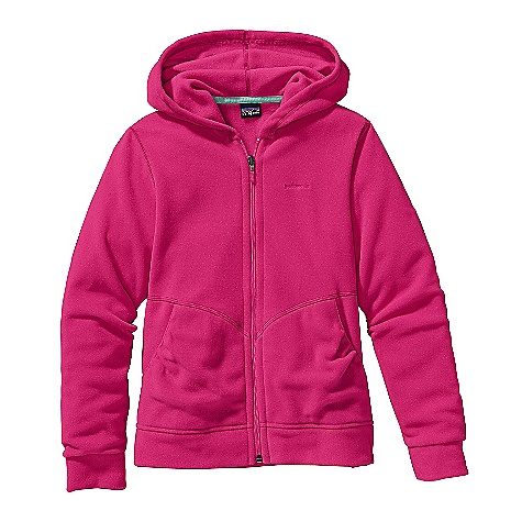 photo: Patagonia Girls' Micro D-Luxe Cardigan fleece jacket