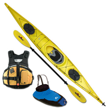 photo: Necky Looksha 17 with Rudder touring kayak