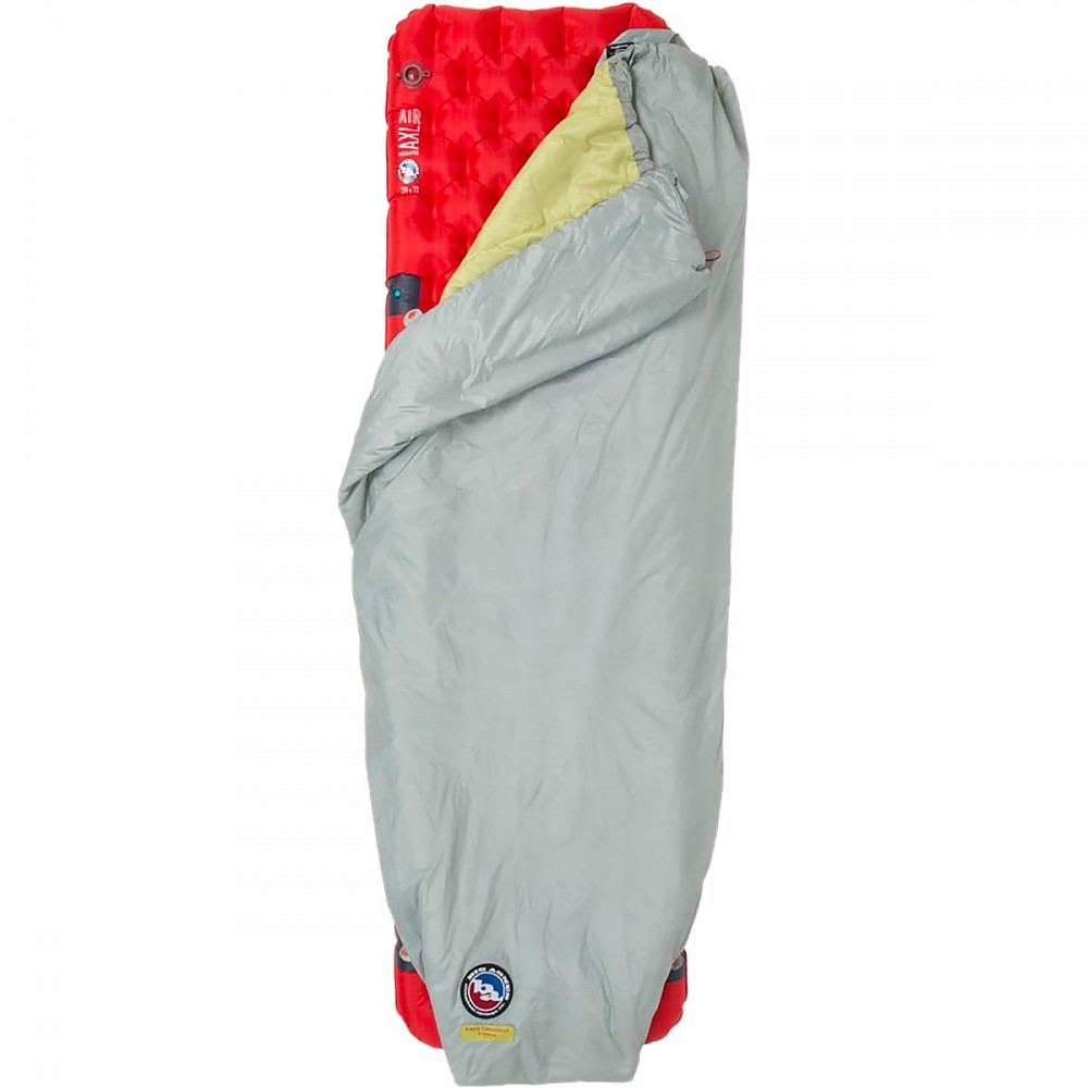 photo: Big Agnes Kings Canyon UL Quilt top quilt