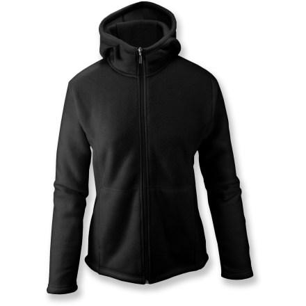 White Sierra Sierra Mountain Hoodie Jacket