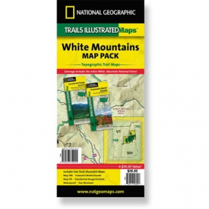 photo: National Geographic White Mountains Map Bundle us northeast paper map