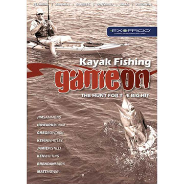 AlpenBooks Kayak Fishing: Game On