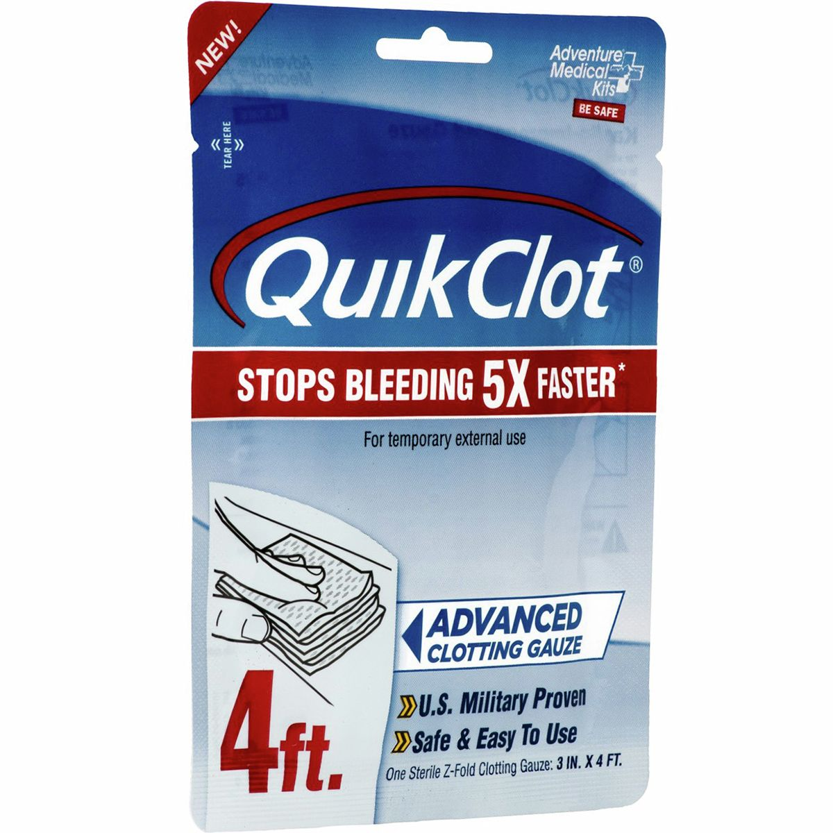 photo: QuikClot Sport first aid supply