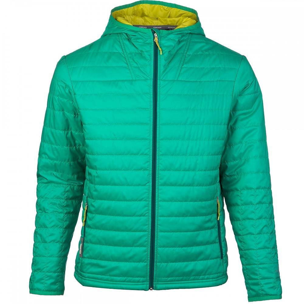 photo: Icebreaker MerinoLOFT Helix Long Sleeve Zip Hood synthetic insulated jacket