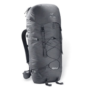 photo: Arc'teryx Acrux 65 weekend pack (3,000 - 4,499 cu in)