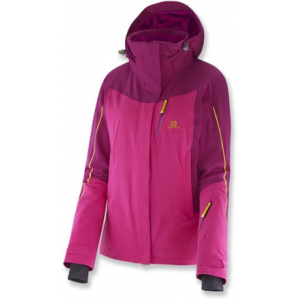 photo: Salomon Iceglory Jacket snowsport jacket