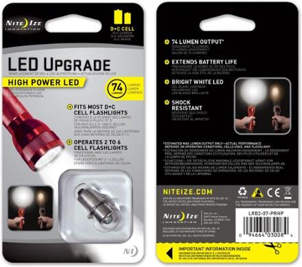 photo: Nite Ize L.E.D. Upgrade Kit flashlight