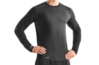 photo: Under Armour HeatGear Fitted Base Longsleeve Crew base layer top