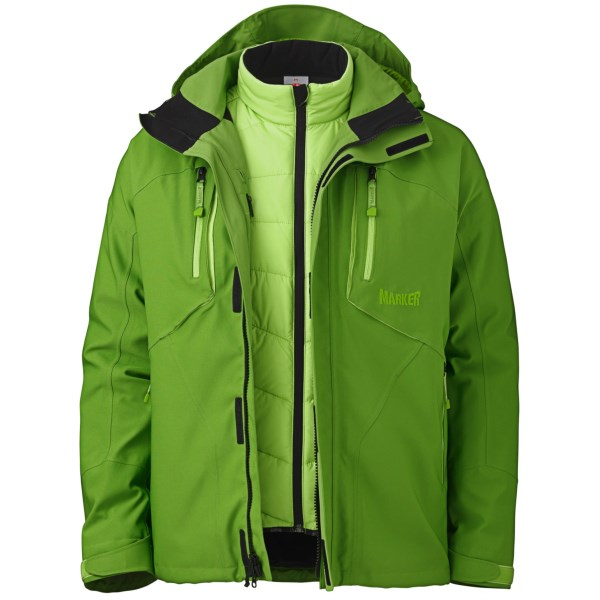 photo: Marker Terrain 3 in 1 Jacket component (3-in-1) jacket