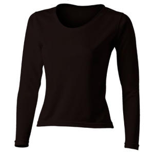 photo: Polarmax Women's Tech Silk Crew base layer top
