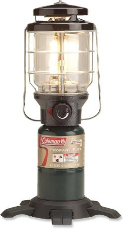 photo: Coleman Northstar InstaStart Propane Lantern fuel-burning lantern