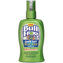 photo: BullFrog Quik Gel Sport Spray SPF 50 sunscreen