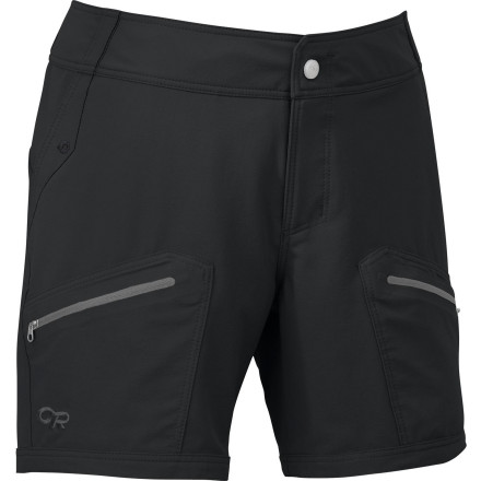 photo: Outdoor Research Women's Contour Shorts hiking short