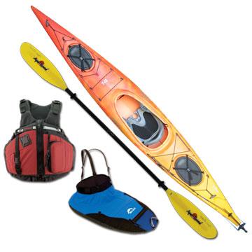 photo: Necky Looksha 14 touring kayak