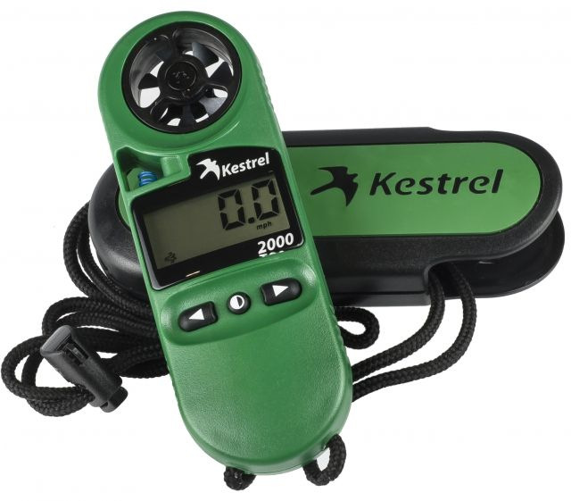 photo: Kestrel 2000 weather instrument
